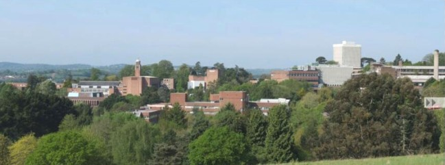 Exeter University's Streatham Campus